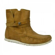 Yellow Cab TUBE W Y26050 Tan Damen Mid Sneaker Stiefel Mokassin Schuhe