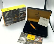 Delta 20th Anniversary Limited Edition Fountain Pen Vermeil 18K med Nib MINT
