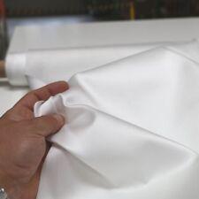 Jacquard Segel-Sonnenschutz-Stoff blickdicht 240cm breit Meterware Weiß Muster