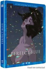 Perfect Blue Steelbook Limited French Edition (FR+JP) Blu-ray + DVD Satoshi Kon