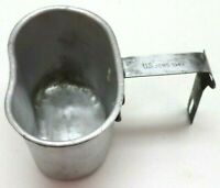 US 1943 AGMCO aluminum Canteen Cup w 1949 JQMD handle E895