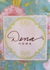 New Dena Home Kiera Aqua Floral Euro Pillow Sham