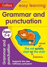 Grammar & Punctuation Ages 7-9 National Curriculam Collins Easy Learning KS2 New
