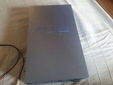 sony playstation 2 konsole ( blau metallic) und spiele + chip