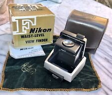 Vintage Nikon F Waist Level Finder. Case, Box & Instructions. Near Mint.