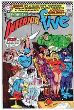 Showcase #65 featuring The Inferior Five, Very Fine - Near Mint Condition*