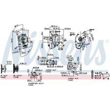 Nissens Turbolader Lader Aufladung Turbo 93132
