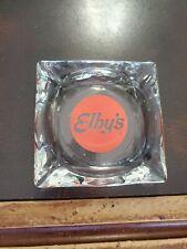 Vintage Glass Ashtray Elbys Bobs Big Boy Restaurants