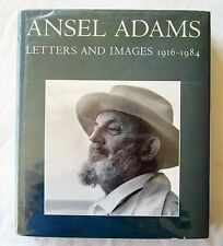 ANSEL ADAMS LETTERS & IMAGES 1916-1984 ART PHOTOGRAPHY 1st Edition ILLUSTRATED