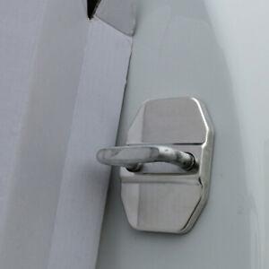 1pc Auto Car Van Decorative Accessories Metal Car Door Lock Protective Cover