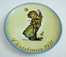 Schmid Hummel 1971 Christmas Plate - Excellent - Ready to Hang