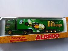 Albedo Volvo Koffer Sattelzug  Bitburger  in 1:87