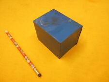 BLUE POLYURETHANE BAR plastic sheet flat stock 2 3/4