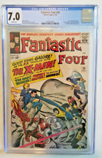FANTASTIC FOUR #28 *CGC 7.0  WHITE PAGES* EARLY X-MEN APPEARANCE