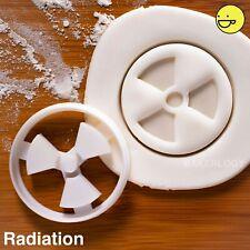 Radiation cookie cutter |hazardous science symbol scientists radioactive biscuit