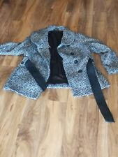 Ladies M&S Winter Jacket Size UK 18 with belt