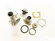 JAGUAR XK8 THERMOSTAT HOUSING TOWER METAL UPGRADE WITH THERMOSTAT