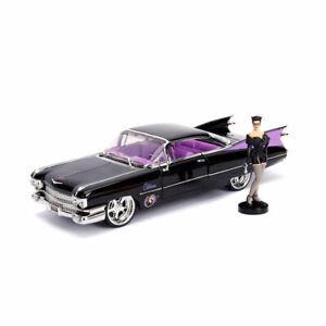 1:24 Jada Hollywood Rides - 1959 Cadillac - DC Bombshells Catwoman