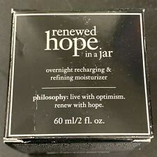 Philosophy Renewed Hope in a Jar Moisturizer 60ml #7780