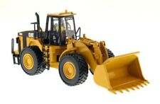 Metal 1/50 Static Caterpillar 980G Wheel Loader Truck Yellow Diecast DMCAT 85027
