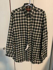 Nordstrom Mens M Flannel Shirt NWT