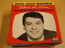 45T EP EUROVISION 1961 / JEAN PAUL MAURIC - PRINTEMPS, AVRIL CARILLONNE
