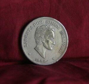 1958 50 Centavos Colombia World Coin KM217 Simon Bolivar