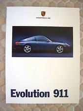 PORSCHE 996 911 CARRERA COUPE & CABRIOLET FIRST PRESTIGE SALES BROCHURE 1999 USA