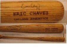 Un Cracked Eric Chavez Game Used Chavez & Munson E Bat Company Bat Oakland A's