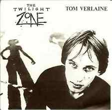 "TOM VERLAINE & TELEVISION:Twilight Zone-U.S.7""Eclectic Music EP Live 78 & 84 PSL"