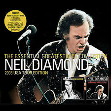 The Essential Neil Diamond [Sony] [Box] by Neil Diamond (2 CD+1 DVD, 2005)