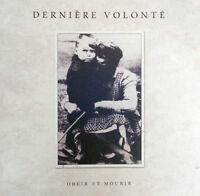 DERNIERE VOLONTE - Obeir Et Mourir 2CD Death in June Der Blutharsch Blood Axis