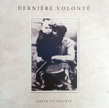 Derniere Volonte-obeir et mourir 2cd Death in June il sangue Harsch Blood Axis