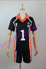 Haikyuu Karasuno Volleyball sawamura daichi Cosplay costume Sportswear jerseys