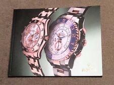 of an 'A5 Size' Rolex Brochure circa 2010