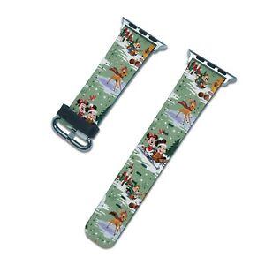 Christmas Disney Apple Watch Band SE 44 40 38 42 mm iWatch 6 5 3 4 2 wristband
