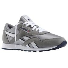 Reebok Classic Nylon Platinum Jet Blue 36088 Mens Shoes 1b348e323