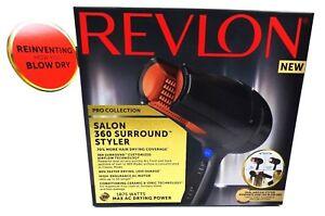 NEW Revlon Professional Ceramic Ionic Hair Dryer Styler 1875W 360 Surround