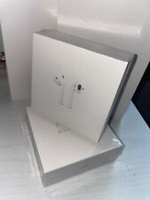 New listing Brand New Apple AirPods 2nd Generation with Wireless Charging Case - White