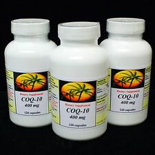 CoQ-10 400mg 360 Capsules Coq10 Co Q10 Coenzyme Anti Aging Cardiovascular