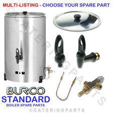 More details for burco standard lp lpg gas hot water tea urn boiler spares choose your spare part