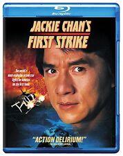 JACKIE CHAN'S FIRST STRIKE  -  BlLU RAY - Region free for UK