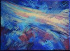 Peintures du XXe siècle et contemporaines compositions mixtes sur toile paysage