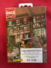 "Busch German Miniature Flower Box for Modeling ""NEW"""