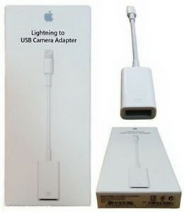 Genuine Authentic Apple Lightning to USB Digital Camera Adapter MD821ZM/A