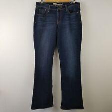 Old Navy Womens Jeans 8 Blue Denim The Sweetheart Fit Dark Wash MQ7