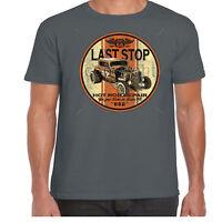 Mens Hotrod 58 T Shirt Rat Rod Custom V8 Garage American Classic Vintage Car 32