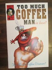 Too Much Coffee Man in love? #4 Adhesive Comics August 1995