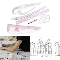 7Pcs French Sewing Curve Ruler Set for Tailors Sewing Pattern Grading Maki New