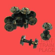 BLACKENED WHEELSETS (8) EARLY KATO MADE ATLAS 422015 N SCALE